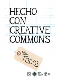 Hecho con creative commons